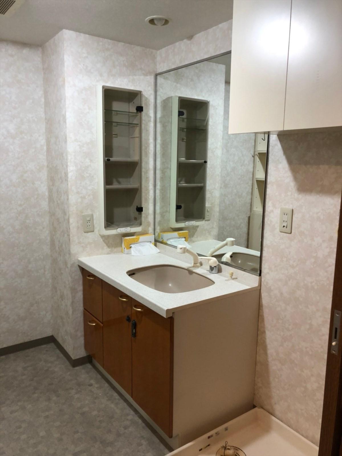リノベーション前の洗面所|横浜リノベーション