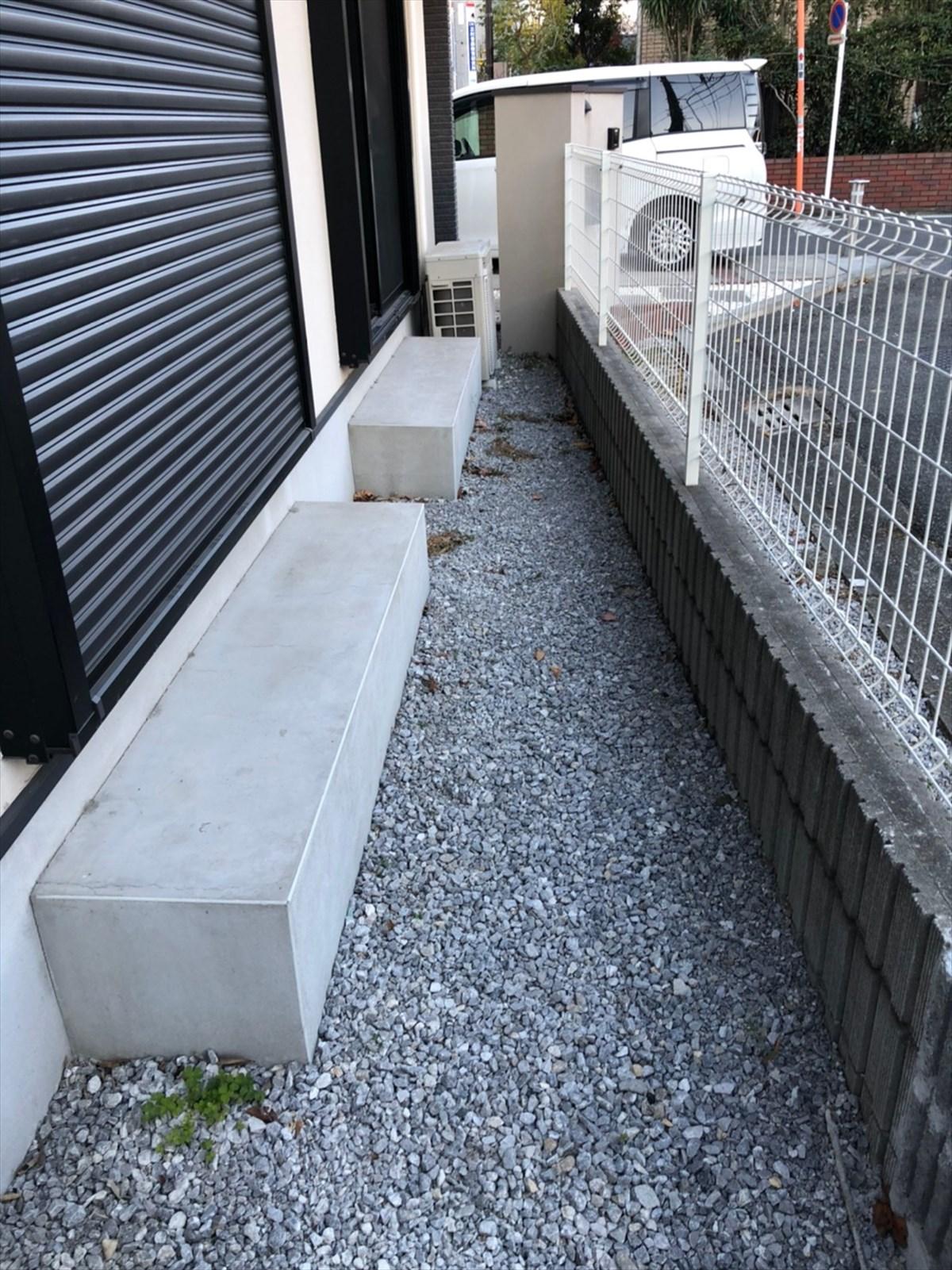 屋外スペースのビフォー画像|横浜リノベーション