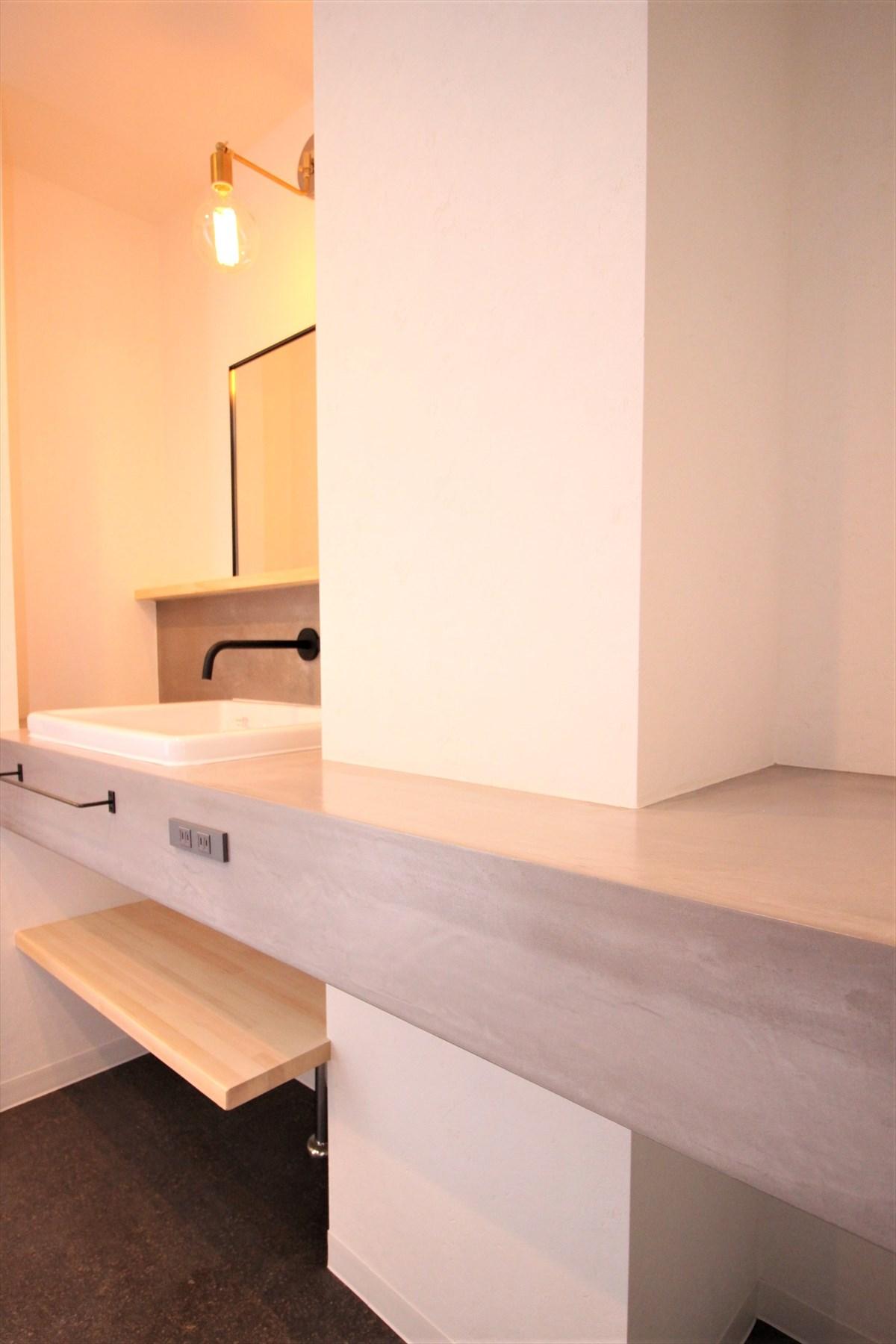 デコリエ洗面スペース|横浜リノベーション