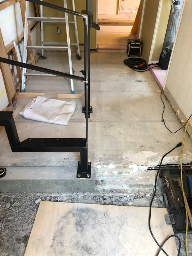 壁になっていた階段部分をリノベーション|リノベーション横浜