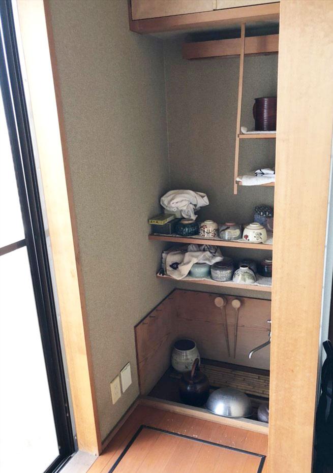 水屋を造作洗面台にリノベーション リノベーション横浜