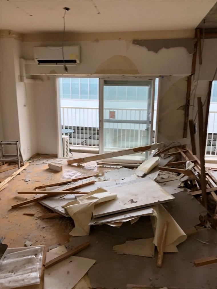 マンションリノベーションの解体|リノベーション横浜