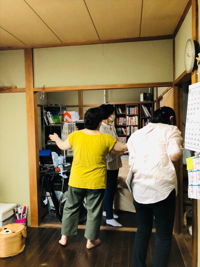 現地調査/インスペクションの様子 リノベーション神奈川・横浜
